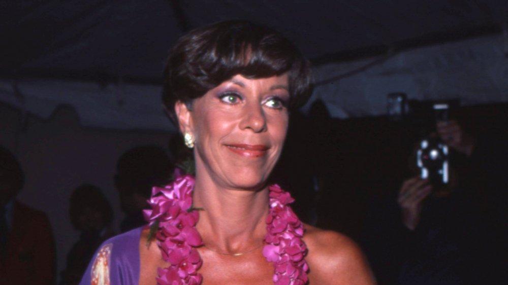 Carol Burnett asiste a un evento en Los Angeles en 1980