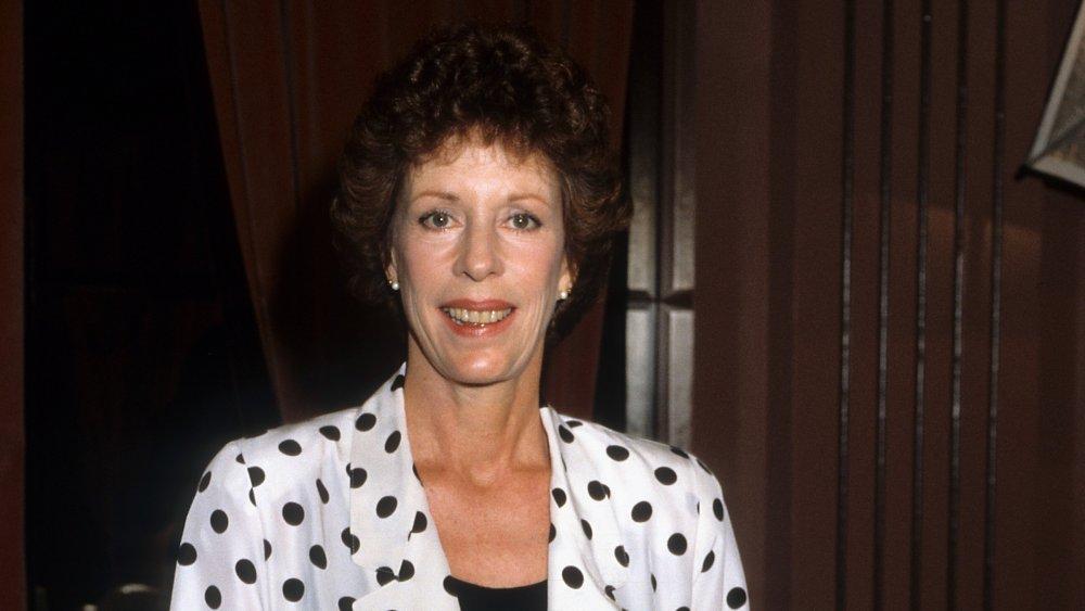 Carol Burnett en Los Angeles en 1985