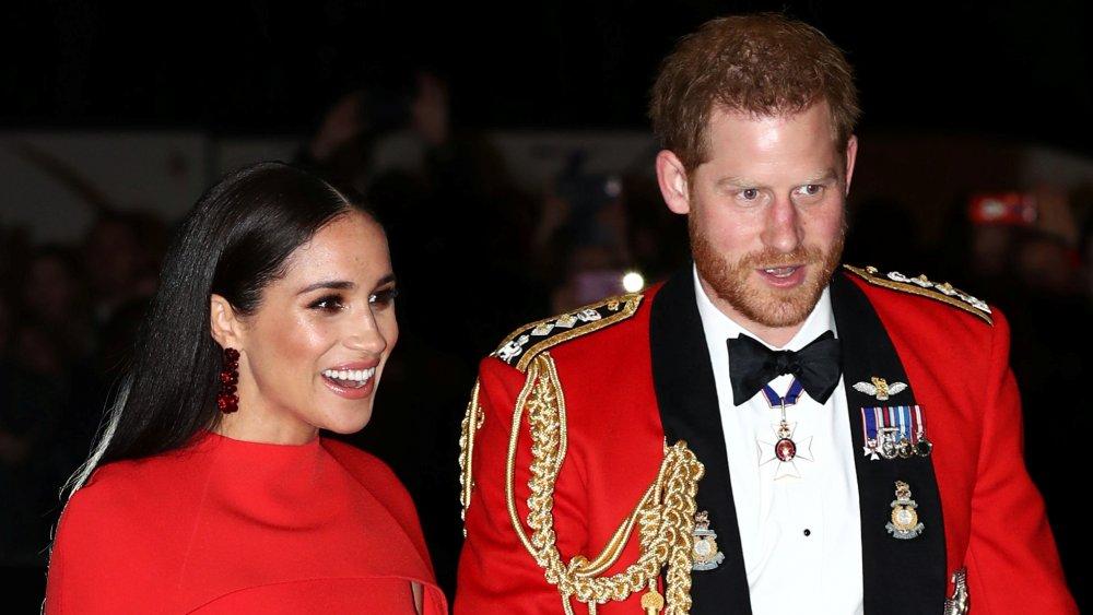 El príncipe Harry y Meghan Markle y el príncipe Harry