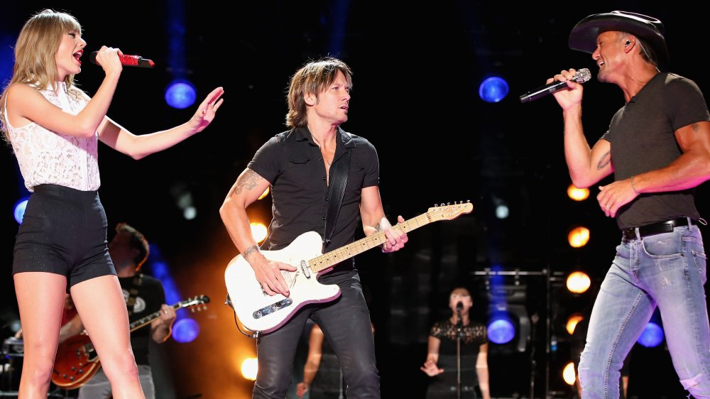 Taylor Swift, Keith Urban y Tim McGraw