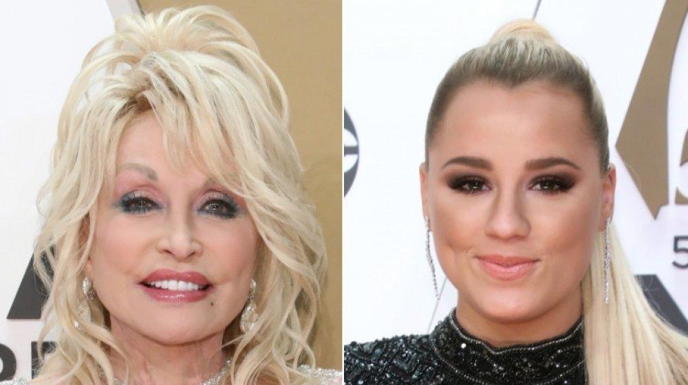 Dolly Parton y Gabby Barrett