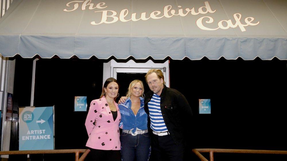Natalie Hemby, Miranda Lambert y Luke Dick