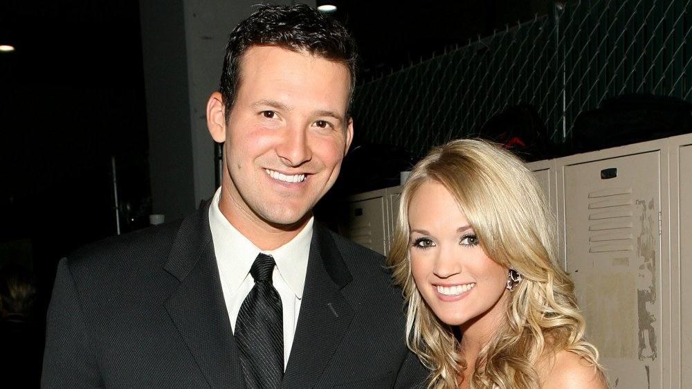 Tony Romo y Carrie Underwood