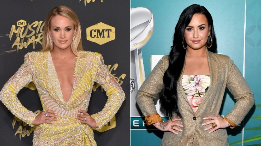 Carrie Underwood y Demi Lovato