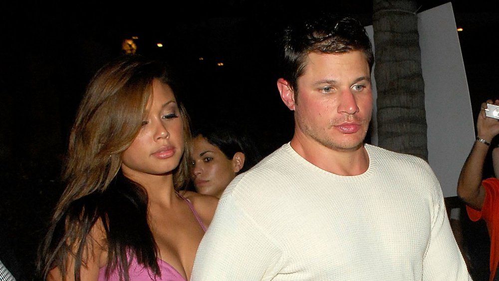 Vanessa Minnillo y Nick Lachey en Maxim's Pre-Super Bowl XLI Party en 2007