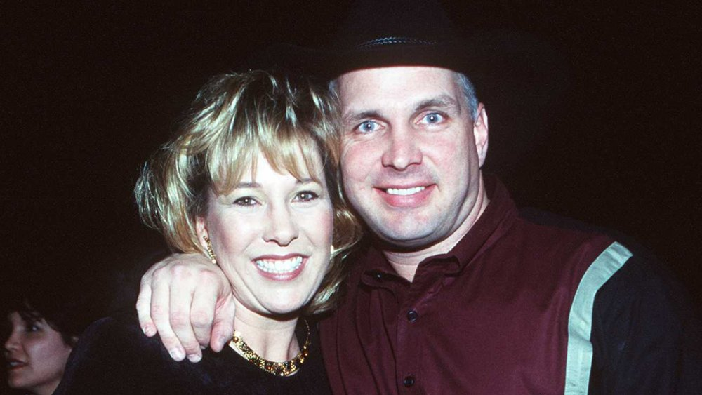 Garth Brooks y Sandy Mahl