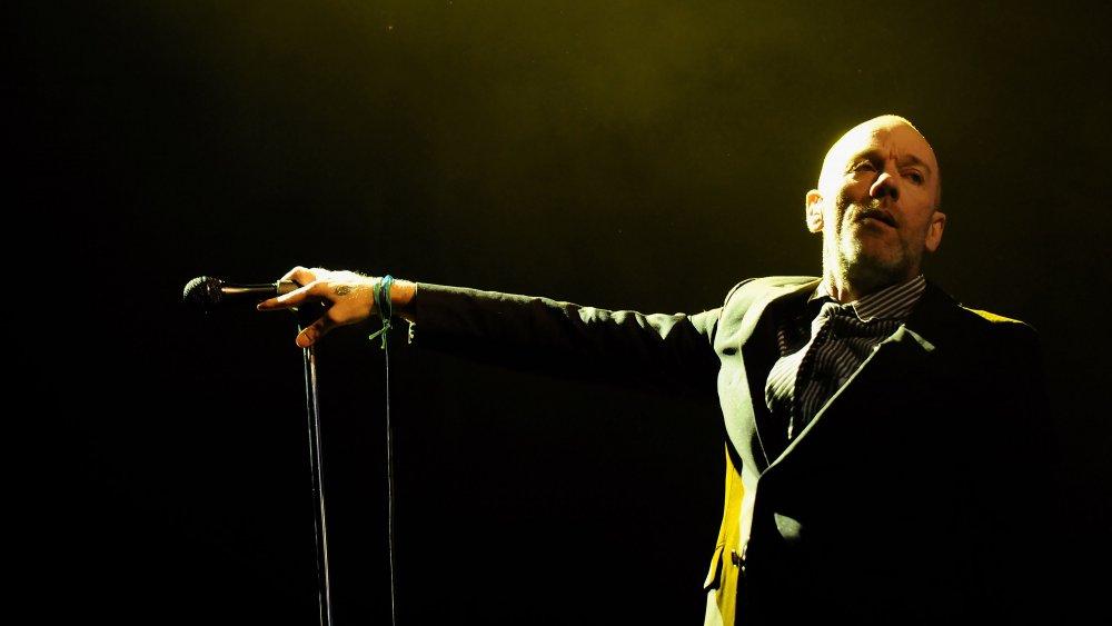 Michael Stipe actúa en la Plaza de Toros de Las Ventas en 2008