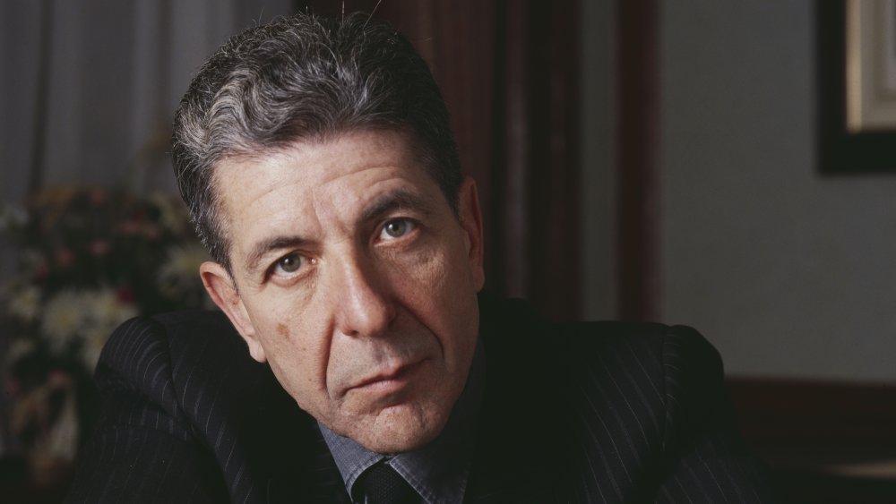 Leonard Cohen en Londres en 1987