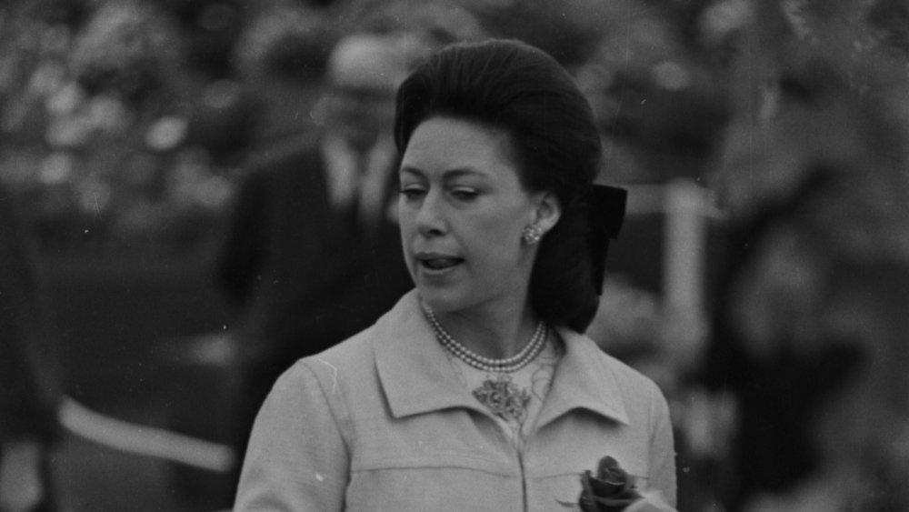 La princesa Margarita en el Chelsea Flower Show en 1968