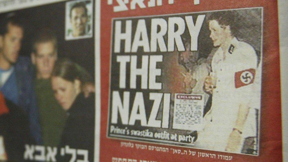 El príncipe Harry en la portada de Yediot Aharonot en 2005