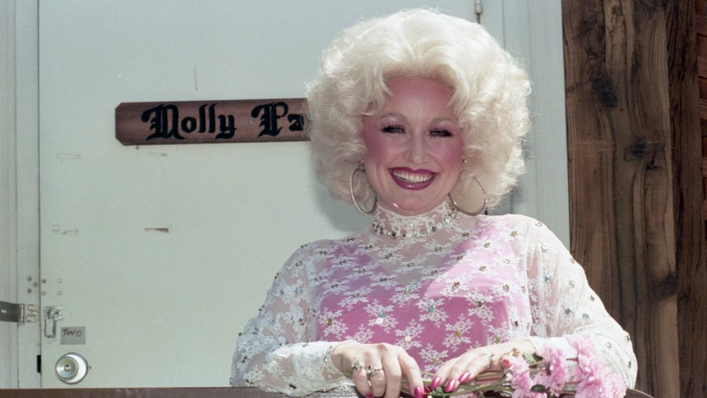 Dolly Parton en el concierto Day on the Green en Oakland Coliseum en 1978