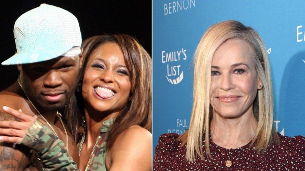 50 Cent y Ciara; Chelsea Handler