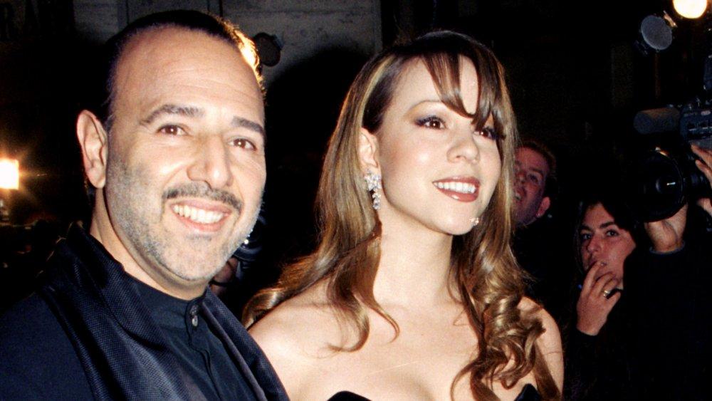Mariah y Tommy Mottola