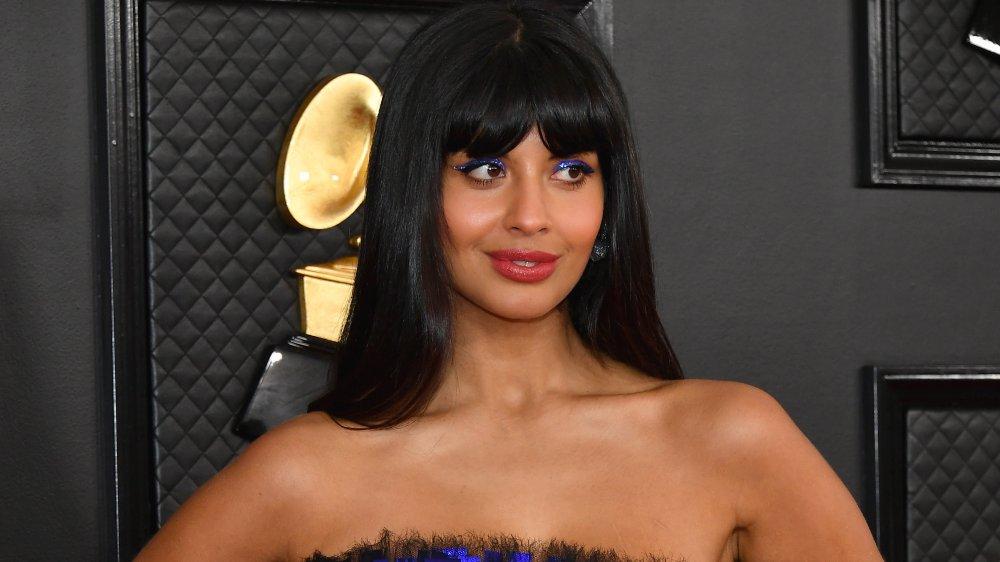 Jameela Jamil en la 62a edición de los Premios Grammy