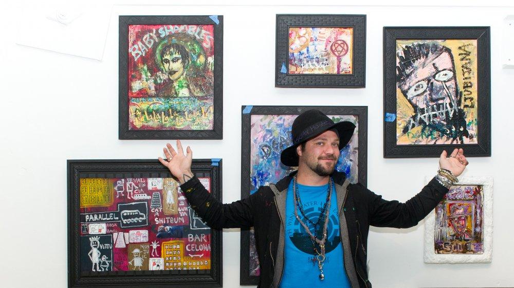 Bam Margera en la exposición de arte Bam Margera & Friends en 2012
