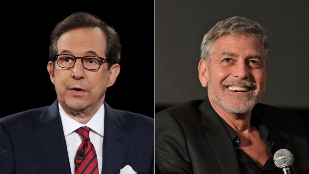 Chris Wallace, George Clooney
