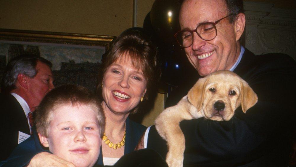 Rudy Giuliani; Donna Hanover