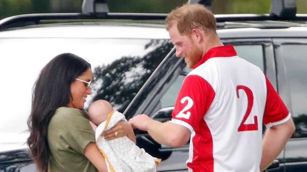 Meghan Markle, Archie Mountbatten-Windsor, Príncipe Harry