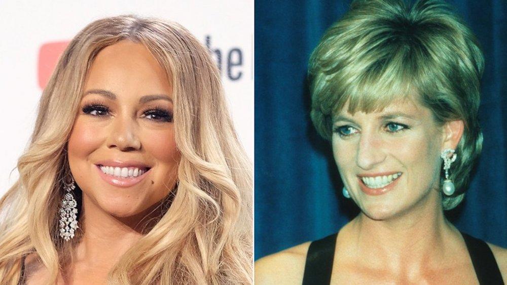 Mariah Carey, princesa Diana