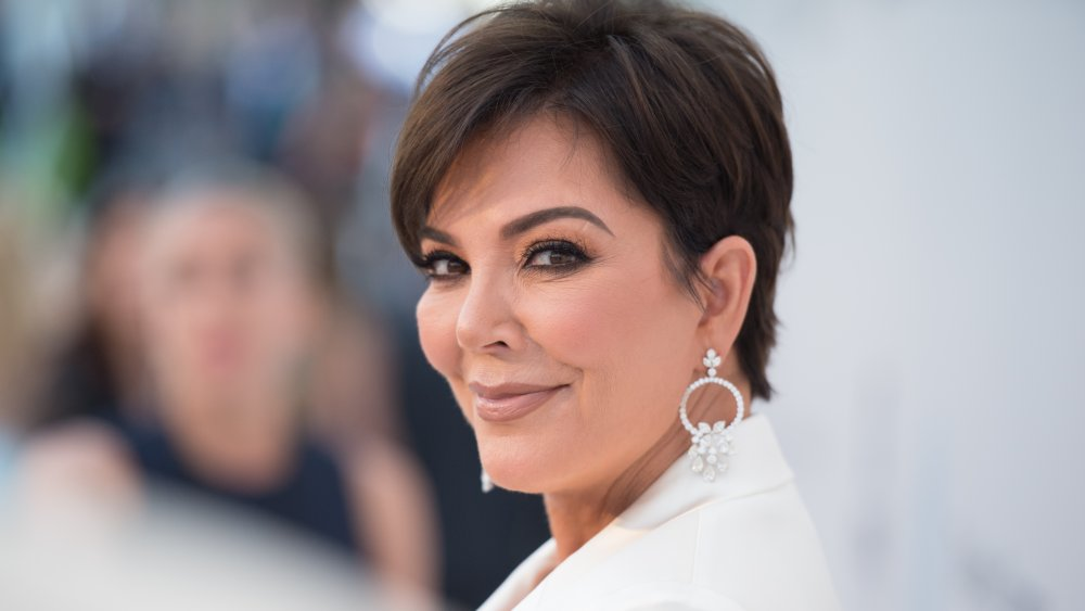 Kris Jenner en amfAR Cannes Gala en 2019