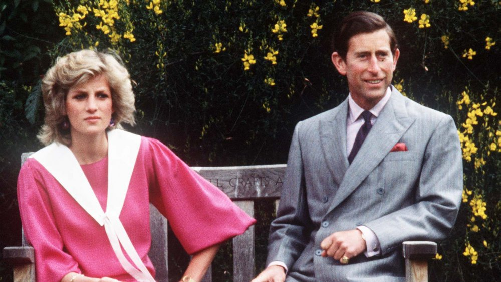 La princesa Diana y el príncipe Carlos en el Palacio de Kensington en 1983