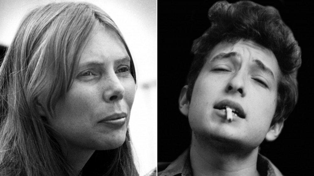 Joni Mitchell, Bob Dylan