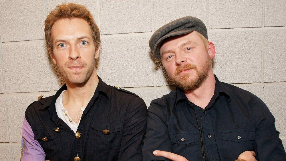 Chris Martin; Simon Pegg