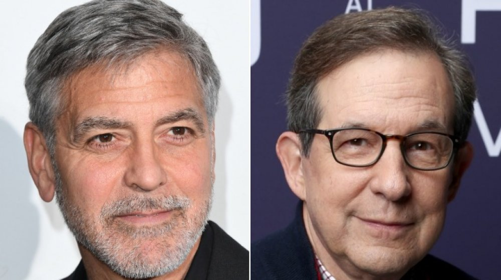 George Clooney, Chris Wallace