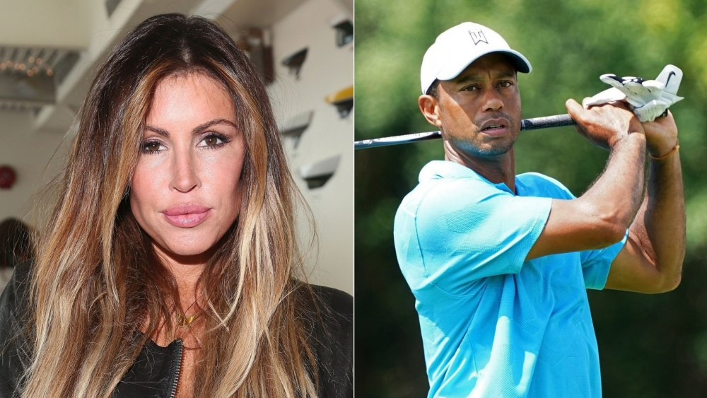 Rachel Uchitel y Tiger Woods