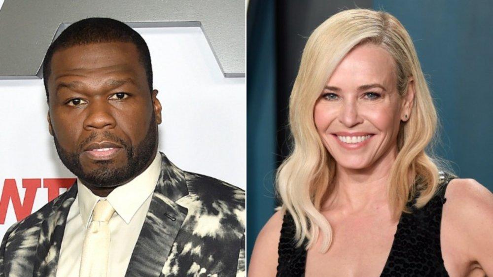 50 Cent; Chelsea Handler