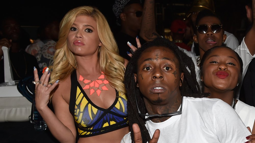 Chanel West Coast y Lil Wayne en un evento
