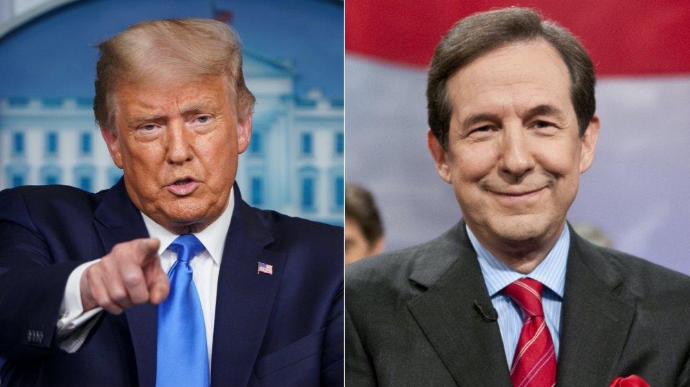 Donald Trump y Chris Wallace