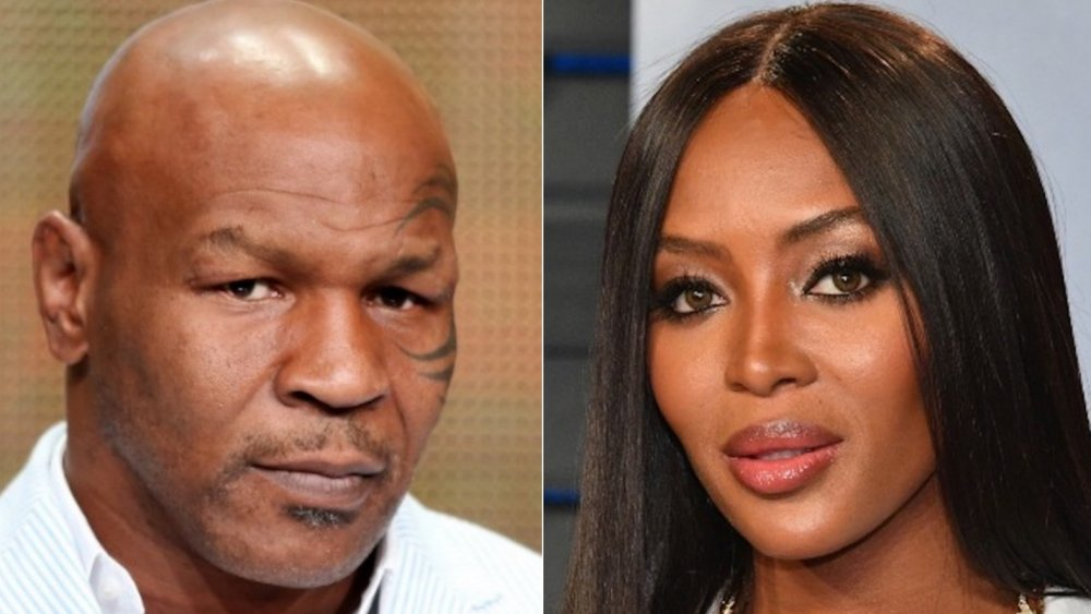 Mike Tyson y Naomi Campbell