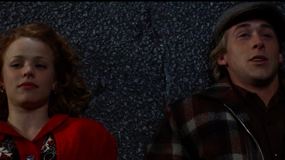 Rachel McAdams y Ryan Gosling en The Notebook