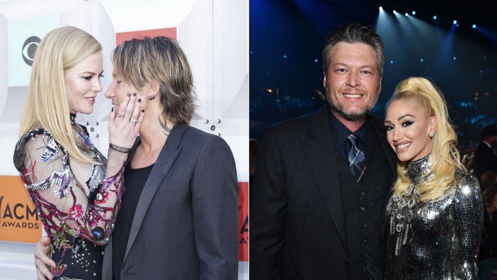 Nicole Kidman & Keith Urban; Blake Shelton & Gwen Stefani