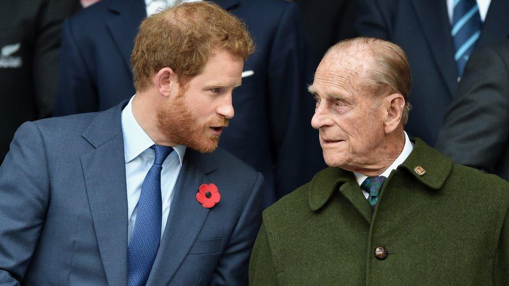 Príncipe Harry, Príncipe Felipe