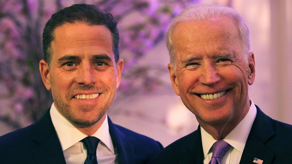 Hunter Biden y Joe Biden
