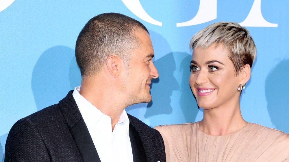 Orlando Bloom y Katy Perry en la Gala for the Global Ocean en 2018