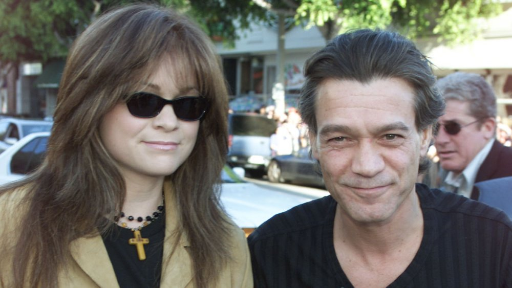 Eddie Van Halen y Valerie Bertinelli