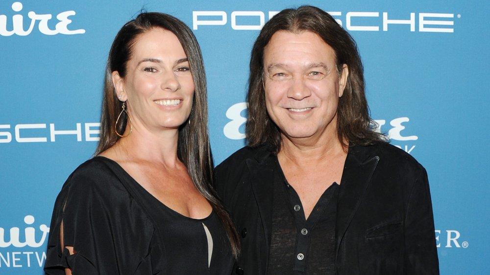 Janie Liszewski y Eddie Van Halen