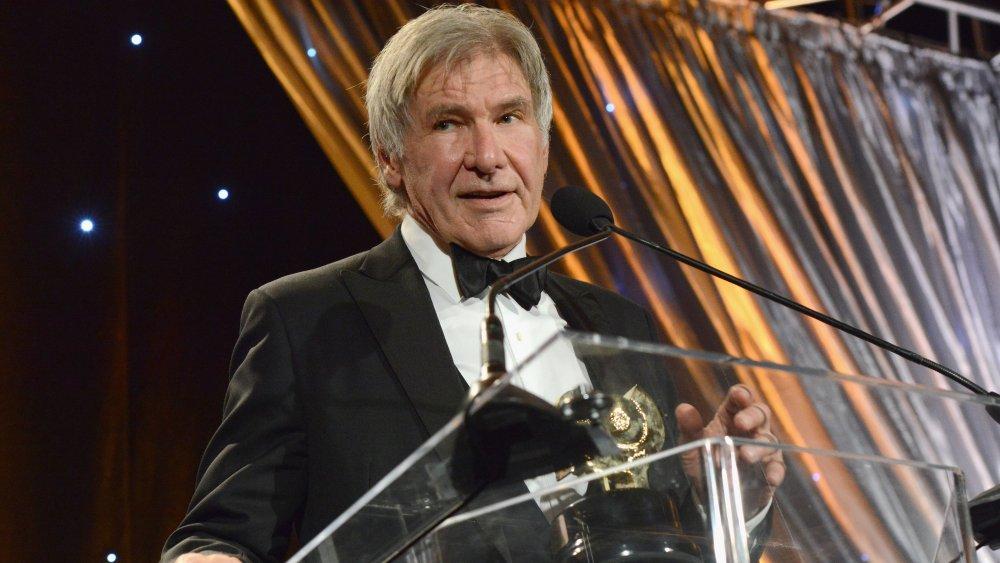 Harrison Ford en la 40a edición anual de los premios a la trayectoria de la Sociedad de Operadores de Cámara