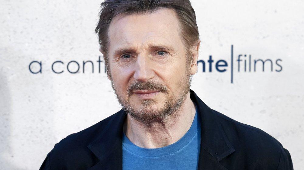 Liam Neeson en la sesión fotográfica de Venganza Bajo Cero