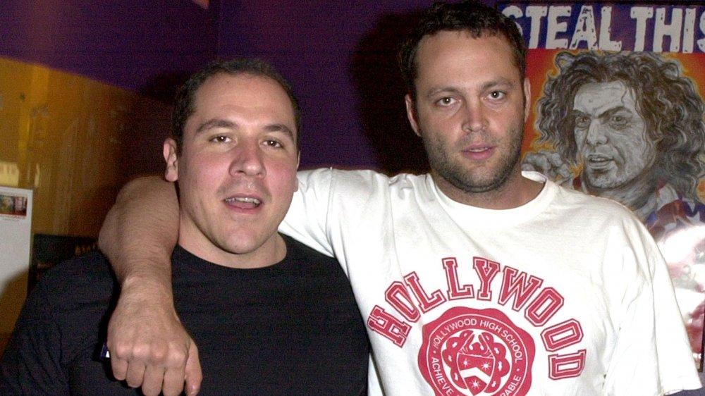 Jon Favreau y Vince Vaughn como amigos