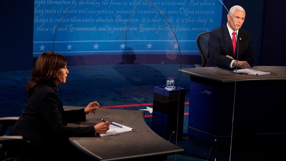 Kamala Harris y Mike Pence