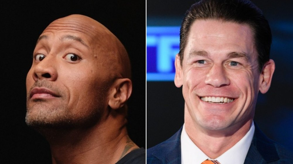 "Dwayne ""The Rock"" Johnson, John Cena"