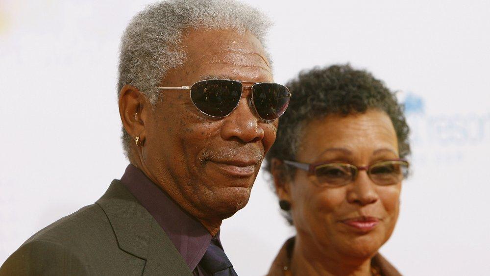 Morgan Freeman y Myrna Colley-Lee