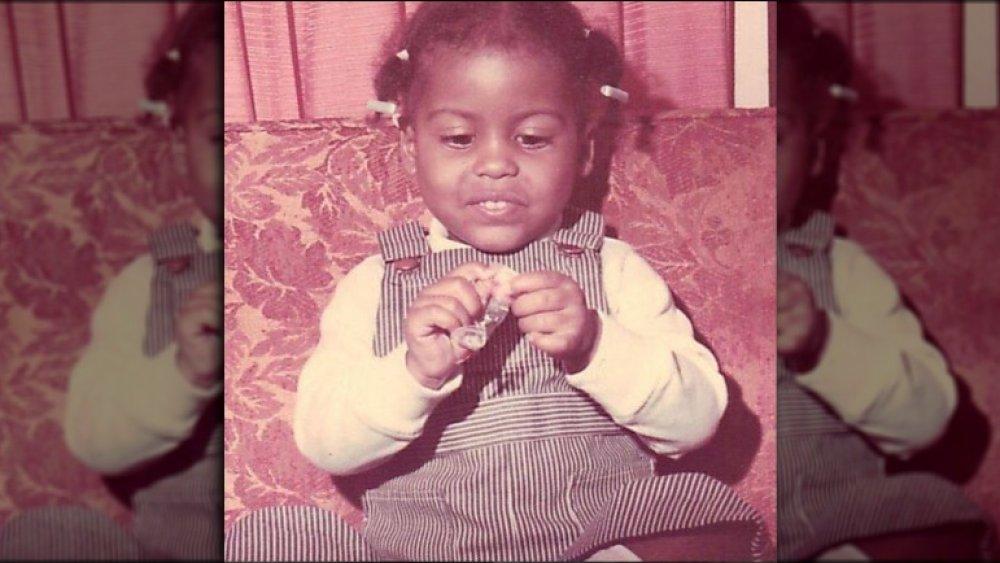 Foto de bebé de tamron hall 1972