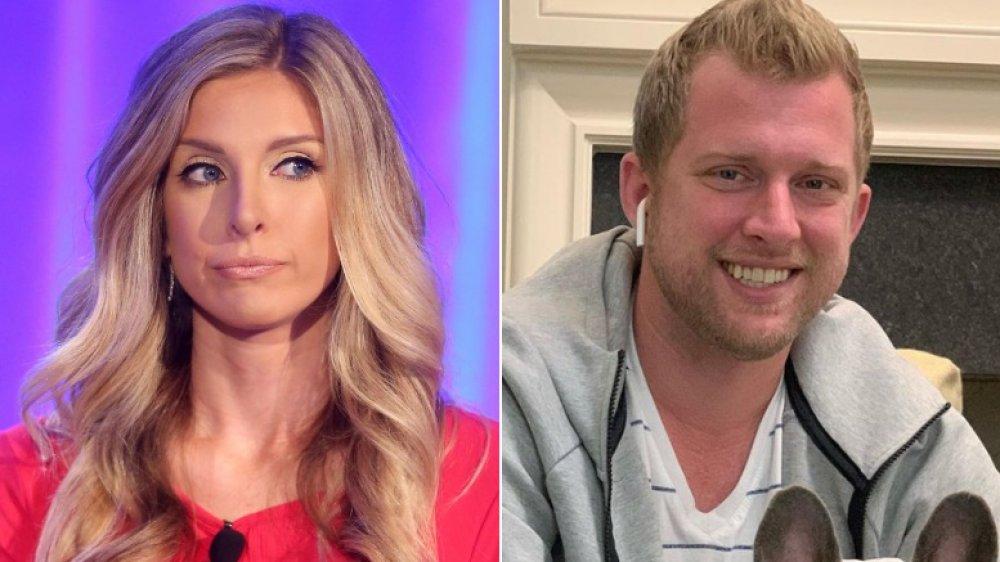Lindsie Chrisley luciendo molesta (izquierda), Kyle Chrisley sonriendo (derecha)