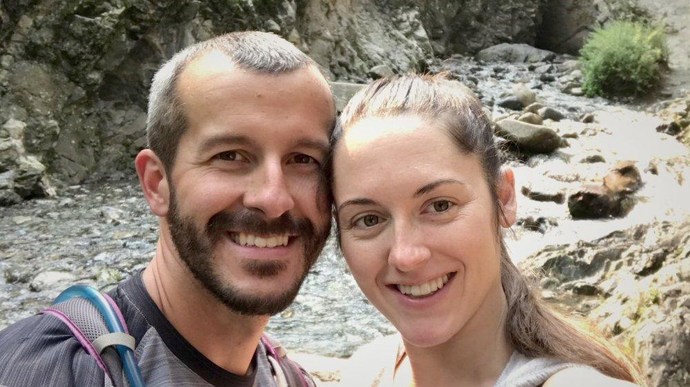 Selfie de Chris Watts y su amante, Nichol Kessinger