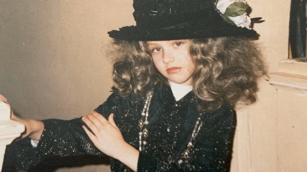 La joven Christina Aguilera se disfrazó para Halloween
